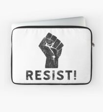 Resist Fist with Exclamation Point Laptop Sleeve