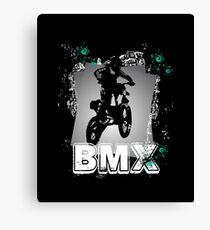 Bicycle Motocross Canvas Print