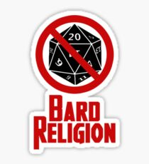 Bard Religion 2 Sticker