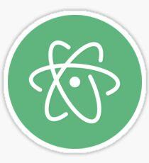 Atom official logo Sticker