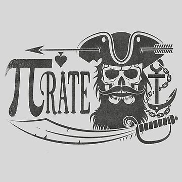 Pi rate - Funny Math Pirate by bethcentral