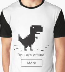 Offline Dinosaur Graphic T-Shirt