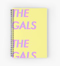 Gals Spiral Notebook