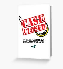 Case closed greeting cards redbubble case closed greeting card m4hsunfo