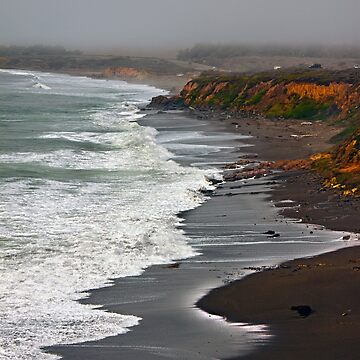 Central California Coast - Near Cambria, California by Buckwhite