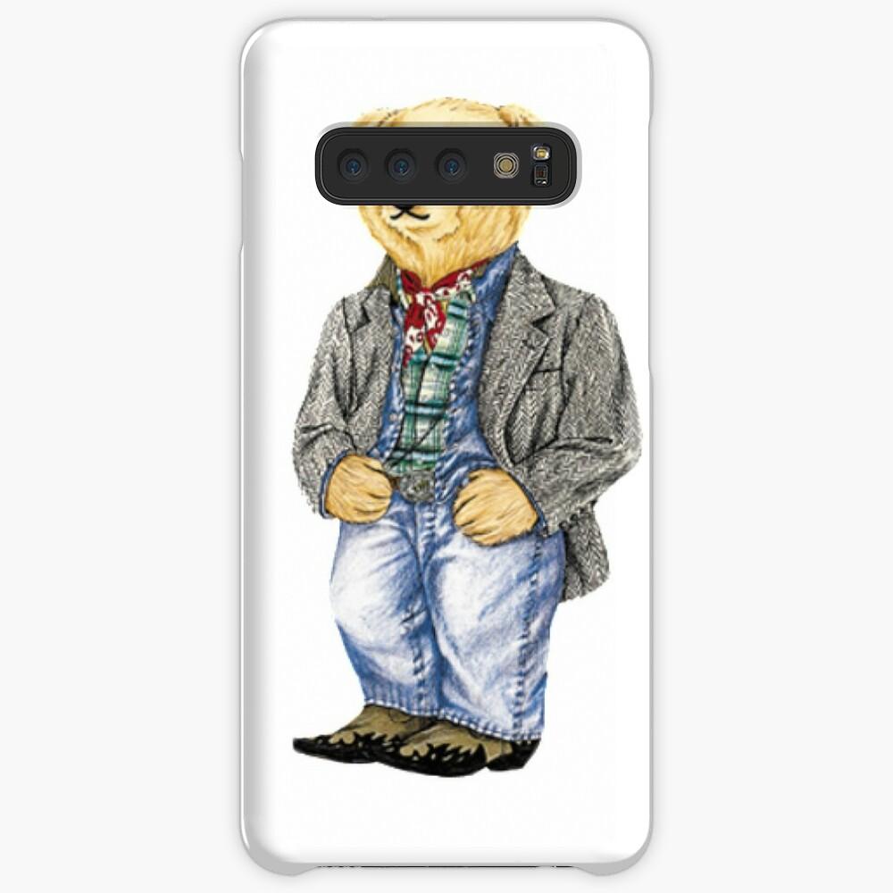 Cowboy Denim Polo Bear Case & Skin for Samsung Galaxy