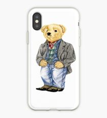 Cowboy Denim Polo Bear iPhone Case
