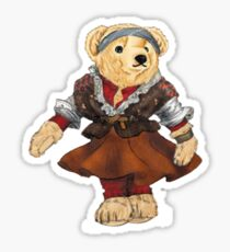 Ballet Dancer Polo Bear Sticker