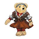 Ballet Dancer Polo Bear by easyrider3