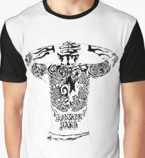Chester Bennington [LP] Design Graphic T-Shirt