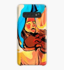 Violin Player Painting Case/Skin for Samsung Galaxy