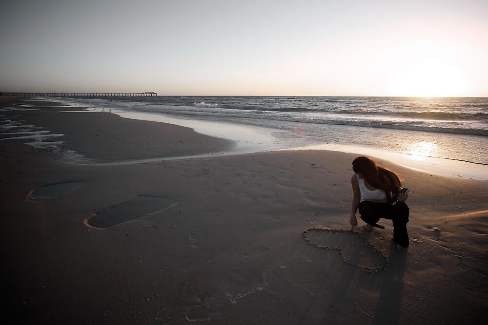 Henley Beach Love heart by Jamie  Druitt