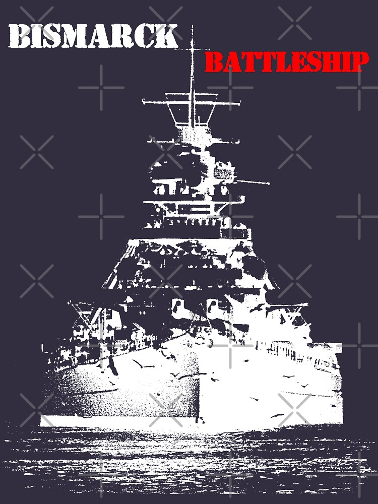 Bismarck - Battleship by hottehue