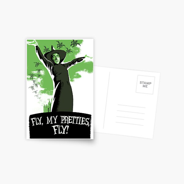 Fly My Pretties!   Postcard