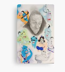 Robin Williams as Genie Canvas Print