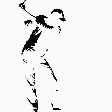 Golfer by JonoBoyd