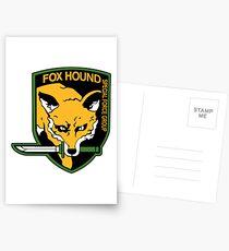 Foxhound Logo Postcards