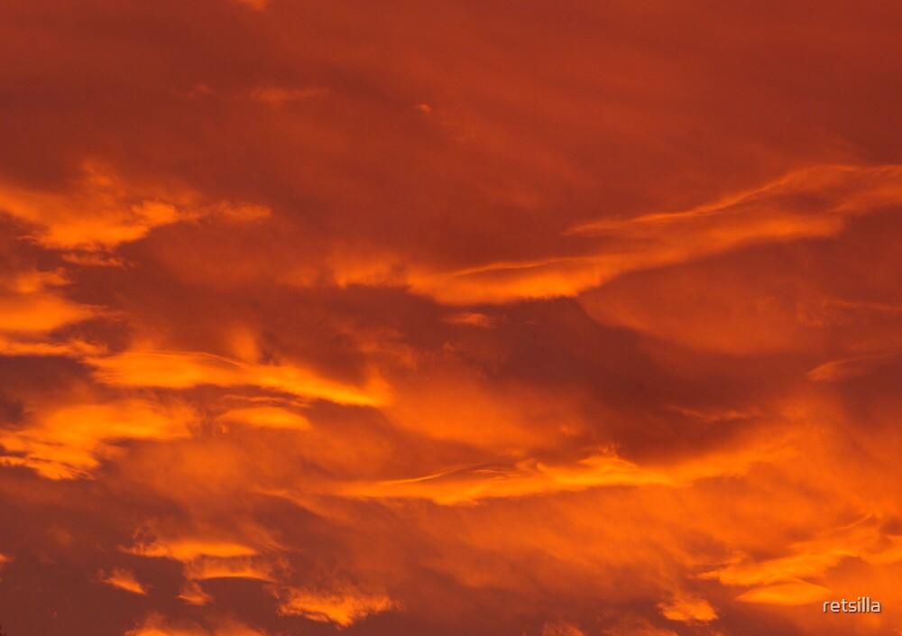 Red Sky At Night by retsilla