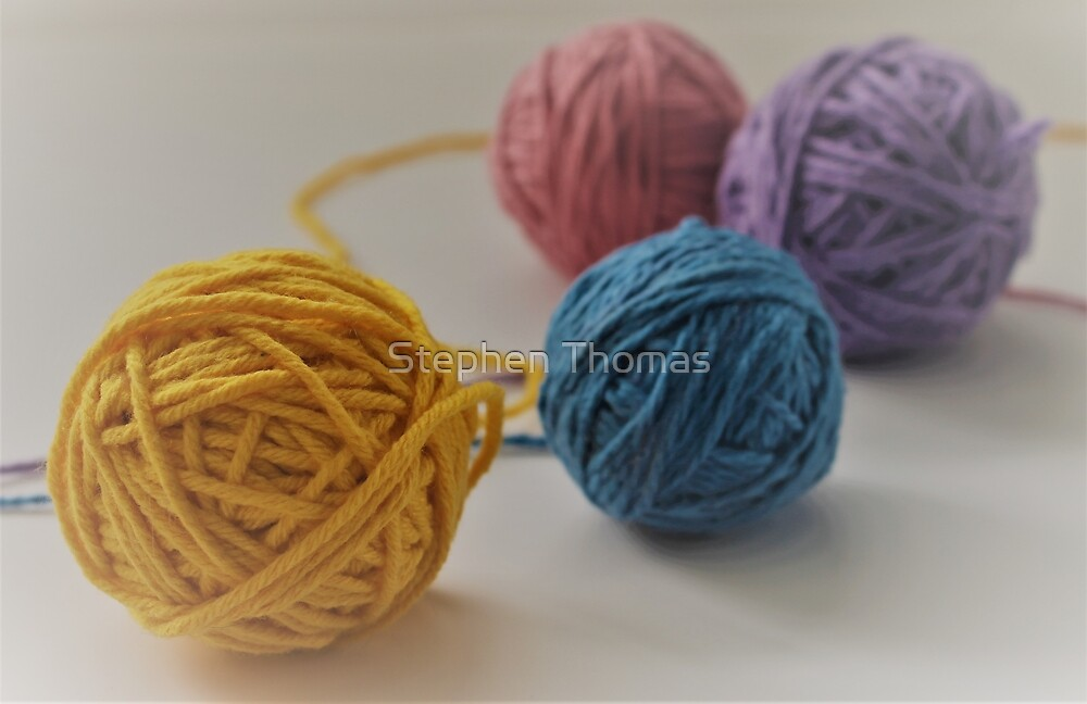 Yarn We Colorful  by Stephen Thomas