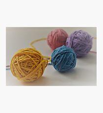 Yarn We Colorful  Photographic Print