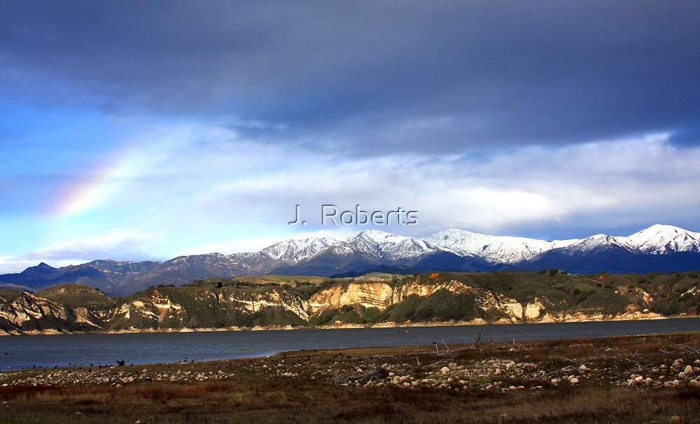 Mountain Rainbow by J.  Roberts