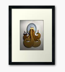 Portrait - Brown Beard Framed Print