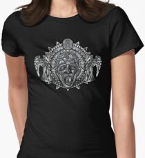 angels dont BLINK aztec Style Women's Fitted T-Shirt