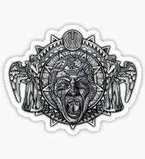 angels dont BLINK aztec Style Sticker