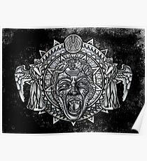 angels dont BLINK aztec Style Poster