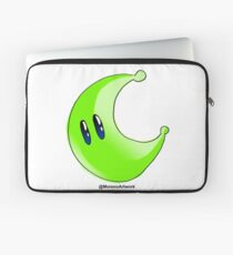 Odyssey Green Power Moon Laptop Sleeve