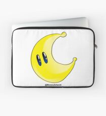 Odyssey Yellow Power Moon Laptop Sleeve