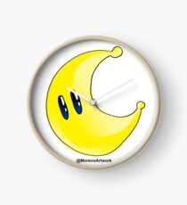 Odyssey Yellow Power Moon Clock