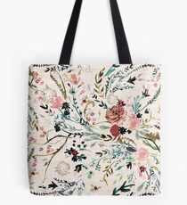 Fable Floral  Tote Bag