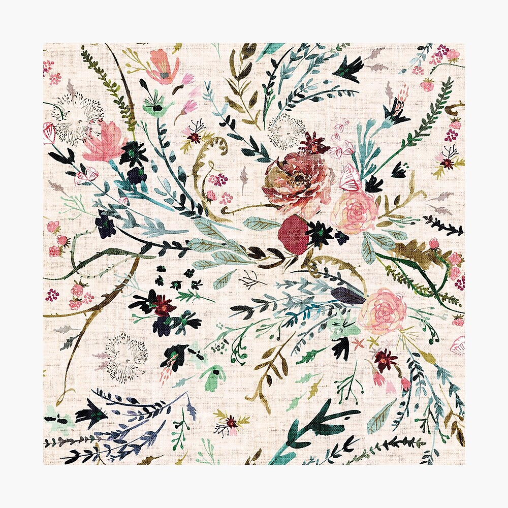 Fable Floral  Photographic Print