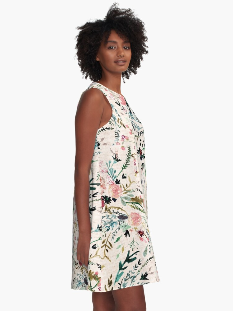 Alternate view of Fable Floral  A-Line Dress