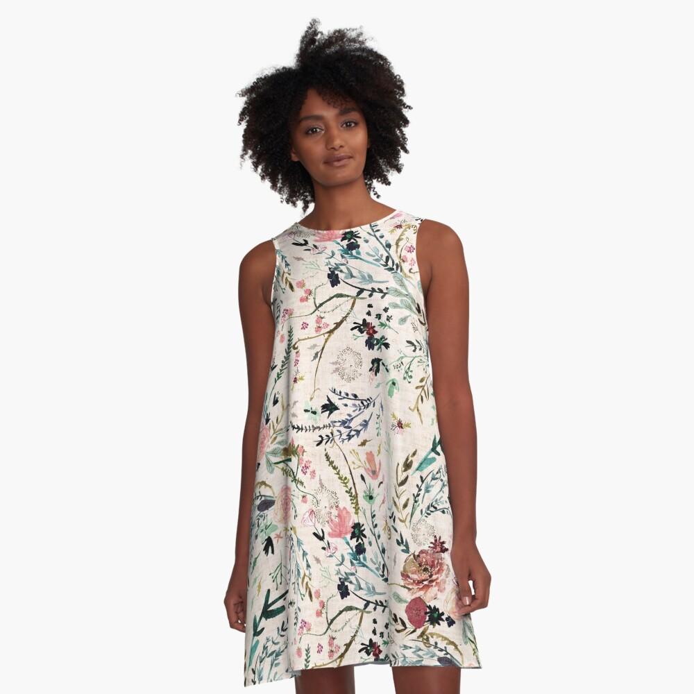 Fable Floral  A-Line Dress