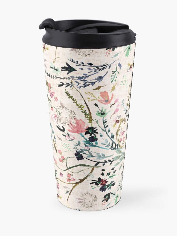 Alternate view of Fable Floral  Travel Mug