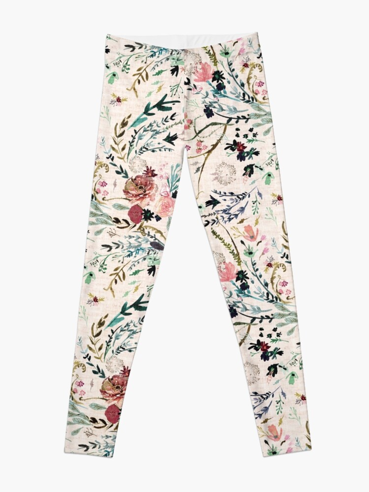 Alternate view of Fable Floral  Leggings