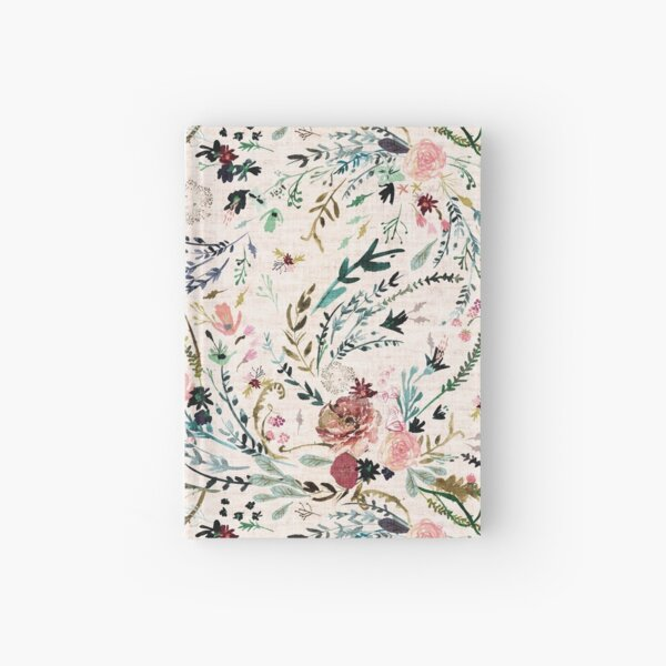 Fable Floral  Hardcover Journal