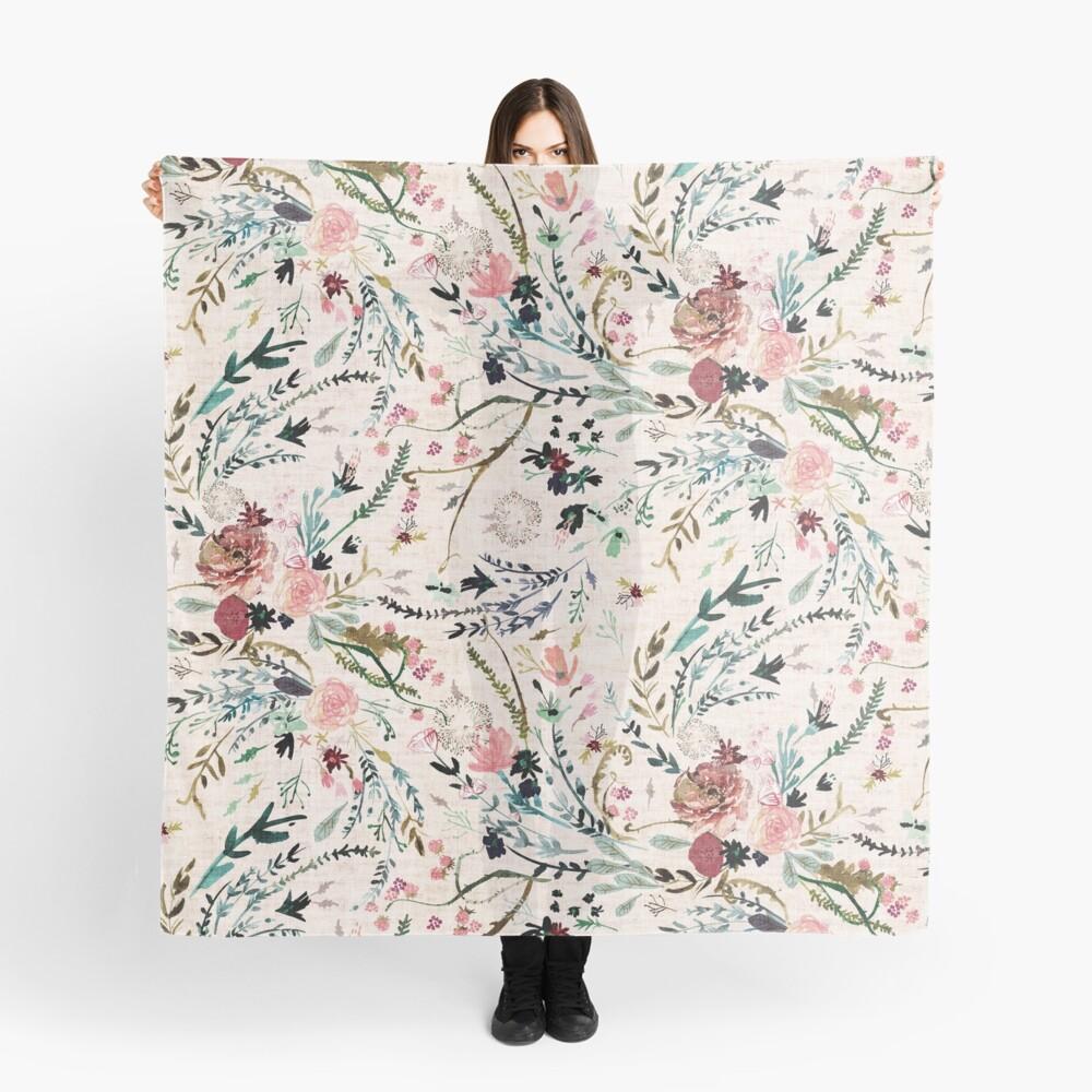 Fabel mit Blumen Tuch