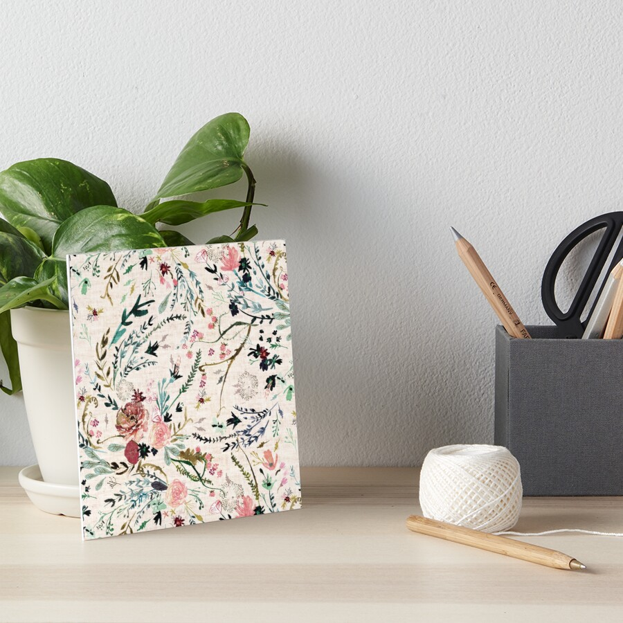Fable Floral  Art Board Print