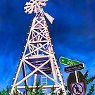 Spenard Windmill in Anchorage, Alaska by Scott Clendaniel