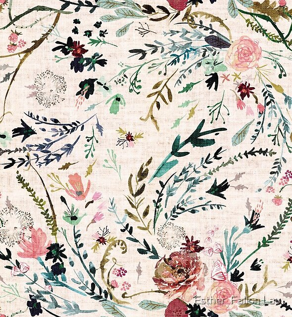 Fable Floral  by Esther  Fallon Lau