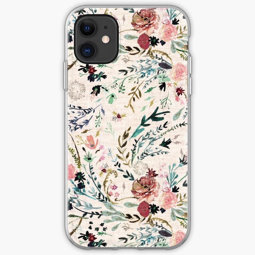 Fable Floral Funda y vinilo para iPhone