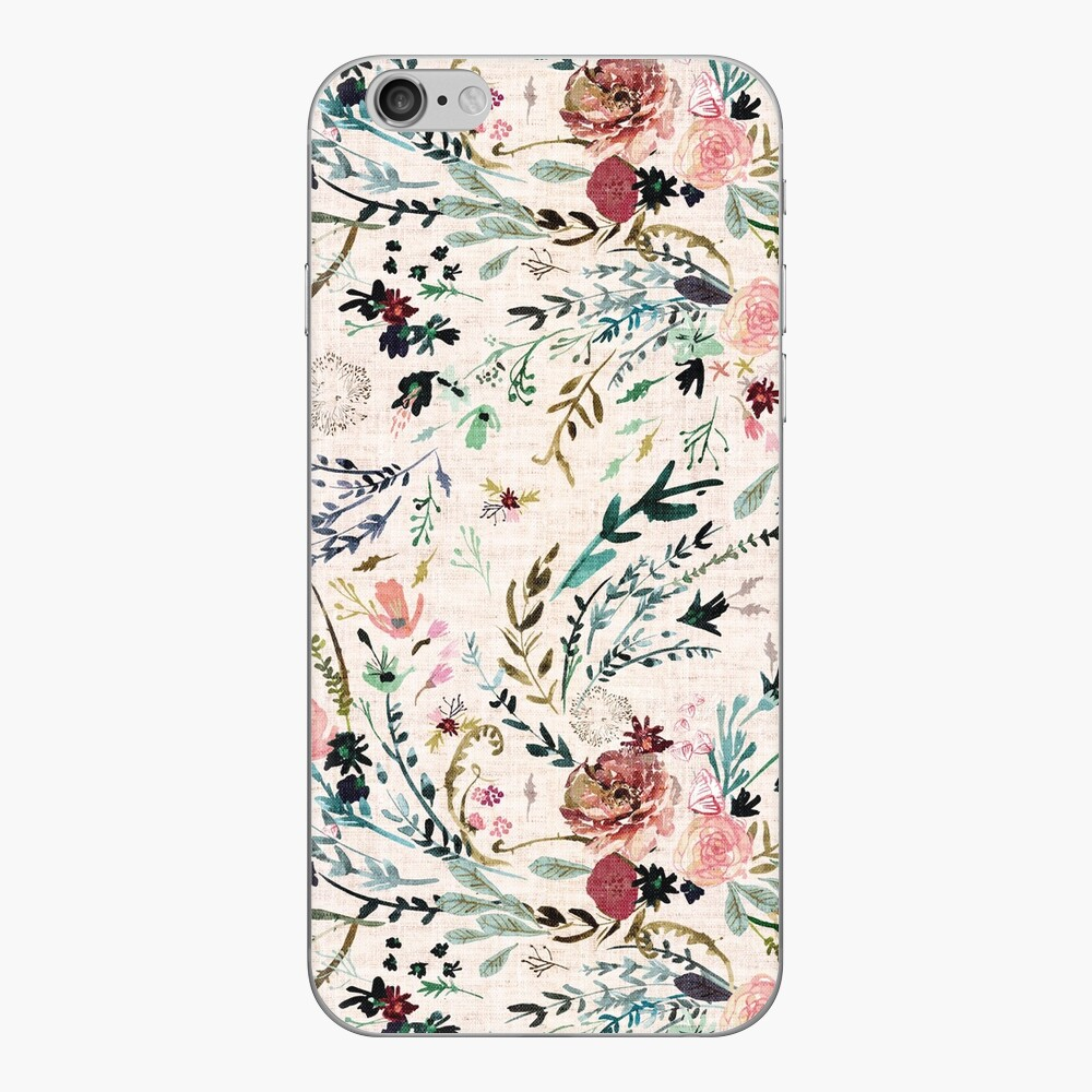 Fable Floral  iPhone Skin