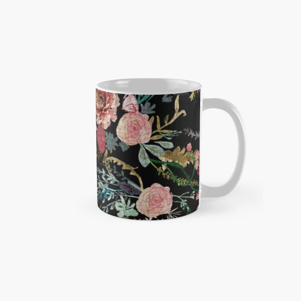 Midnight Floral Classic Mug