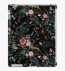 Midnight Floral iPad Case/Skin