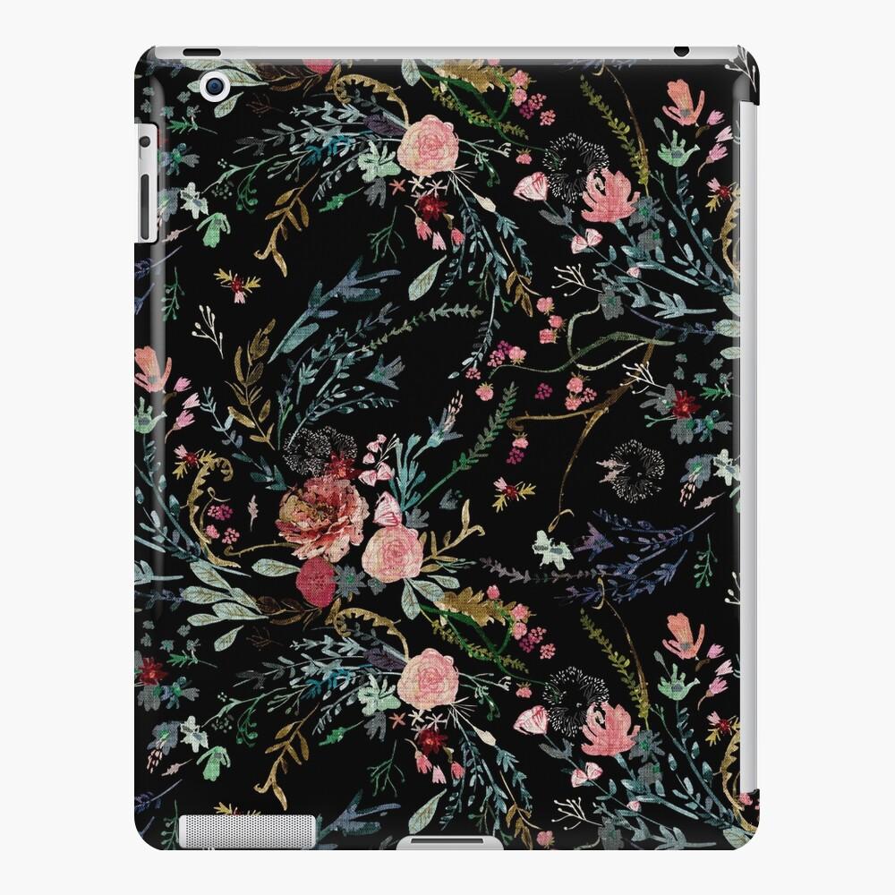 Midnight Floral iPad Case & Skin