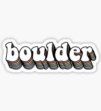 Boulder Hippy Sticker