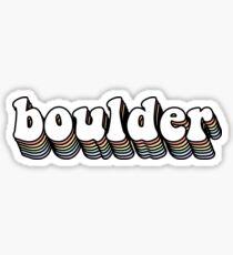 Boulder Hippy Sticker